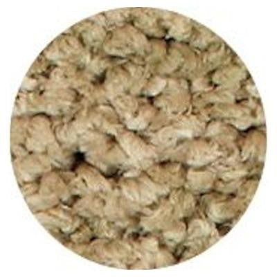 Heavenly Shag Sage 6 ft. x 6 ft. Round Area Rug