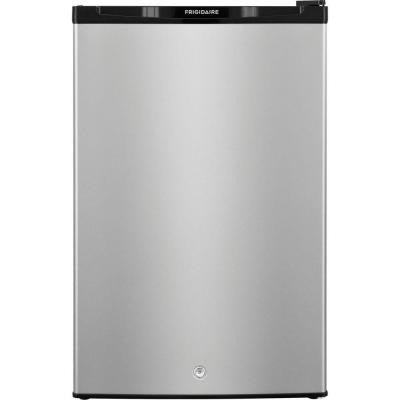 4.5 cu. ft. Mini Refrigerator with Full Freezer in Silver Mist, ENERGY STAR