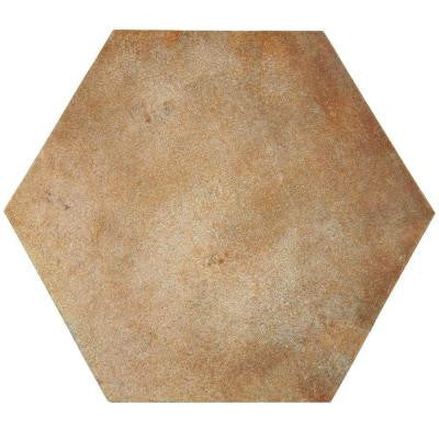 Americana Boston North Hex 14 in. x 16 in. Porcelain Floor and Wall Tile (10.87 sq. ft. / case)