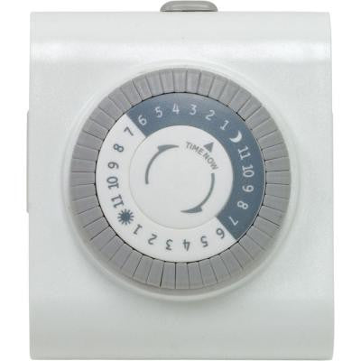 Plug-In Dual-Outlet Heavy-Duty Timer