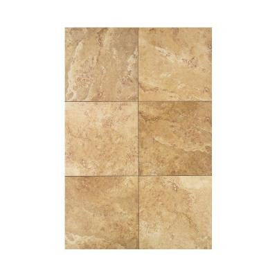 Pietre Vecchie Golden Sienna 13 in. x 13 in. Porcelain Floor and Wall Tile (16.7 sq. ft. / case)