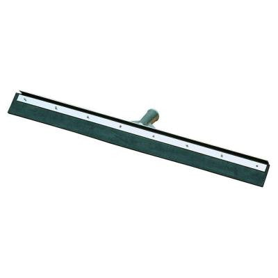 36 in. Black Rubber Floor Squeegee with Metal Frame (Case of 6)