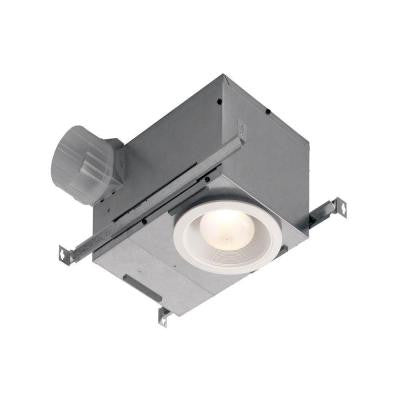Humidity Sensing Recessed 70 CFM Ceiling Exhaust Bath Fan with Light and Humidity Sensing, ENERGY STAR*