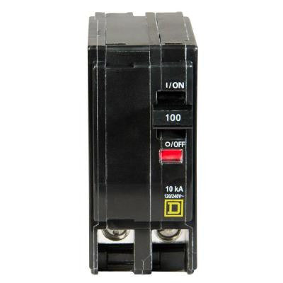 QO 100 Amp 2-Pole Circuit Breaker