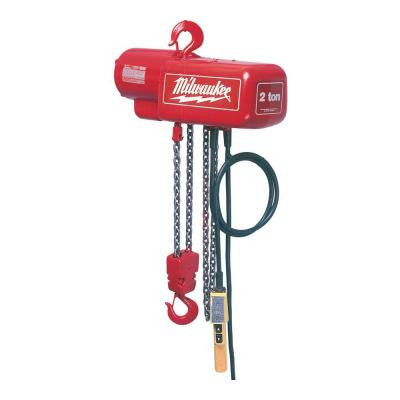 1 Ton 10 ft. Electric Chain Hoist