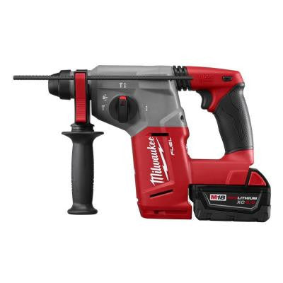 M18 FUEL 18-Volt Lithium-Ion Brushless 1 in. SDS-Plus Rotary Hammer and Hammervac Dedicated Dust Extractor Kit