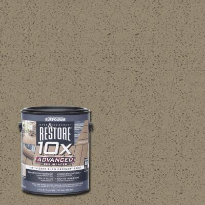 1 gal. 10X Advanced Taupe Deck and Concrete Resurfacer