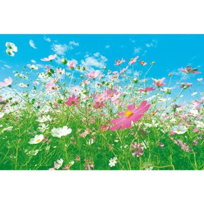 100 in. x 144 in. Flower Meadow Wall Mural
