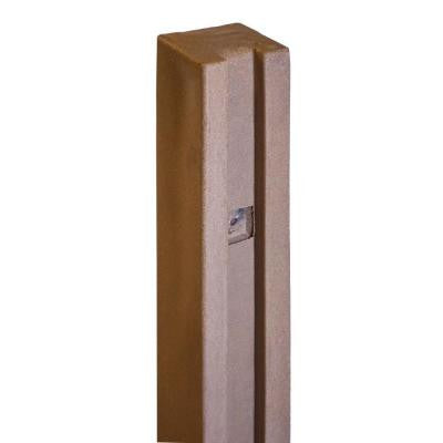 Ashland 5 in. x 5 in. x 8-1/2 ft. Red Cedar Composite Fence Gate Post