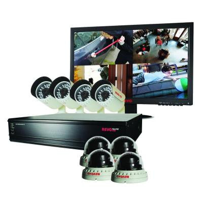 Elite HD 16-Channel 4TB NVR Surveillance System with 8 2.1 Megapixel HD Cameras