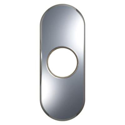 4 in. Escutcheon in Chrome