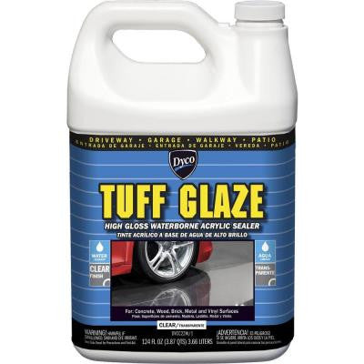 Tuff Glaze 1 gal. C22W Clear High Gloss Waterborne Acrylic Sealer