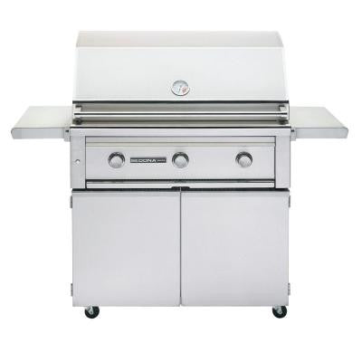 3-Burner Stainless Steel Propane Gas Grill