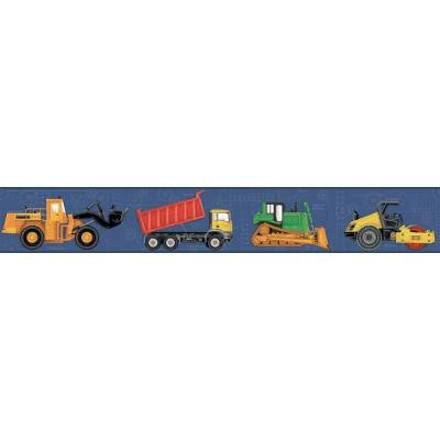 9 in. Cool Kids Construction Border