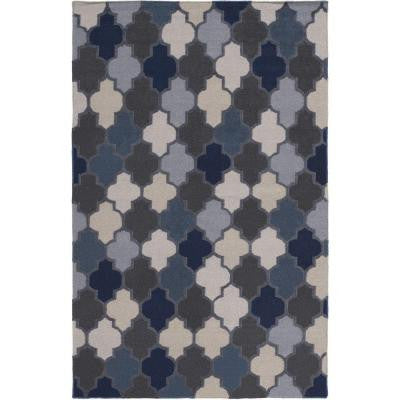 Nia Gray 5 ft. x 8 ft. Indoor Area Rug