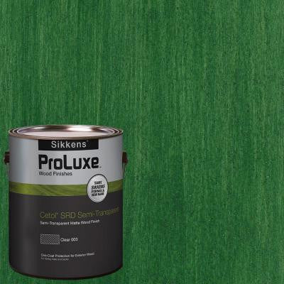 1-gal. #HDGSRD-ST-414 Forest Green Cetol SRD Semi-Transparent Exterior Wood Finish