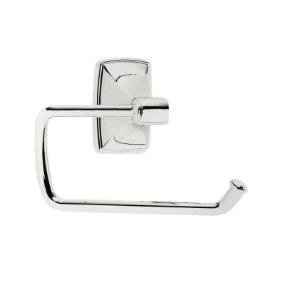 Clarendon Tissue Roll Holder in Chrome