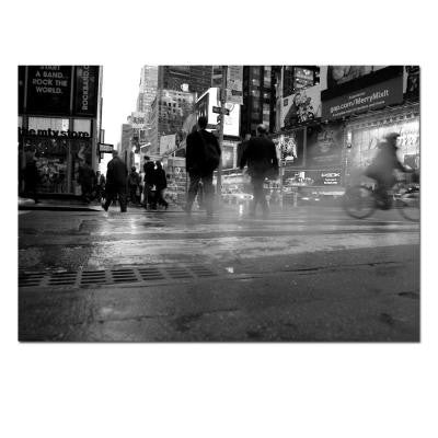 35 in. x 47 in. 44th Street Canvas Art