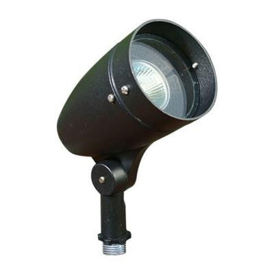 Skive 1-Light Black Outdoor Directional Spot Light