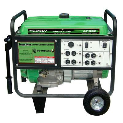 Energy Storm 6,700-Watt 389cc Gasoline Powered Electric Start Portable Generator