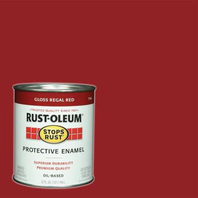 1-qt. Regal Red Gloss Protective Enamel Paint (Case of 2)