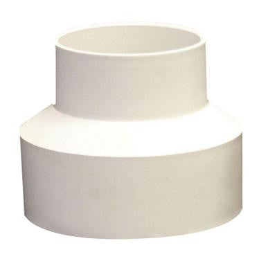 4 in. x 6 in. PVC Hub x Hub Reducer Coupling