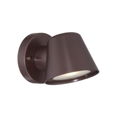 1-Light Architectural Bronze LED Wall Sconce