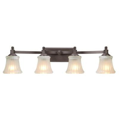 Kenning 4-Light Dutch Bronze Bath Sconce