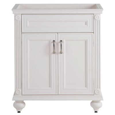 Annakin 30 in. W Vanity Cabinet Only in Cream