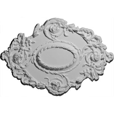 30-3/8 in. Kinsley Flowing Leaf Ceiling Medallion