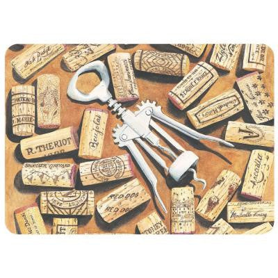 Corkscrew 22 in. x 31 in. Polyester Surface Mat