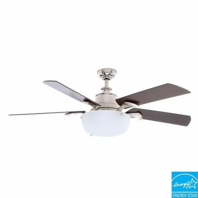 Winfield 54 in. Liquid Nickel Ceiling Fan