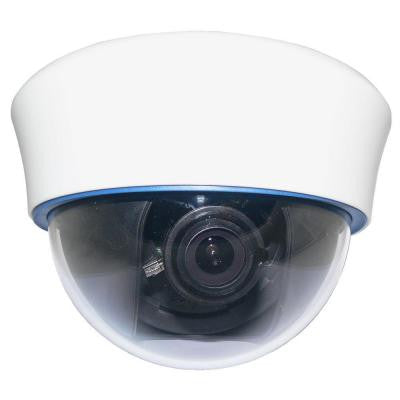 Wired 700 TVL High Resolution Indoor Dome Security Camera - White