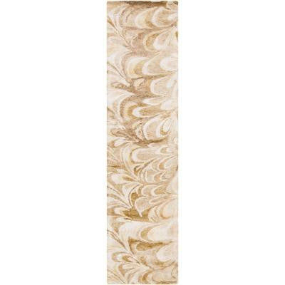 Orslosa Ivory 2 ft. 6 in. x 8 ft. Indoor Rug Runner