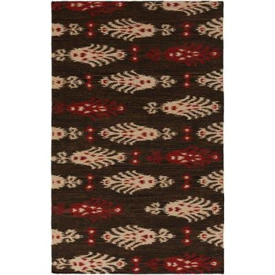 Barlovento Burnt Sienna 3 ft. 6 in. x 5 ft. 6 in. Flatweave Area Rug