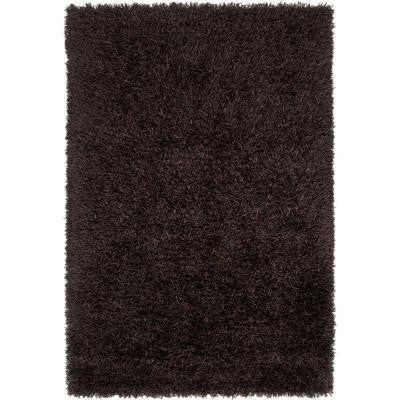 Woodford Black 5 ft. x 8 ft. Indoor Area Rug