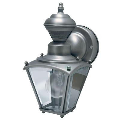 150° Silver Mini Coach Lantern with Clear Beveled Glass