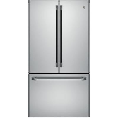 Cafe 23.1 cu. ft. French Door Refrigerator in Stainless Steel, Counter Depth