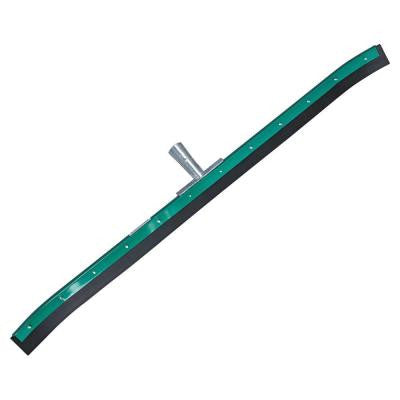 36 in. Aquadozer Heavy Duty Floor Squeegee with Curved Green/Black Rubber Blade