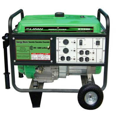 Energy Storm 8,250-Watt 420cc Gasoline Powered Electric Start Portable Generator