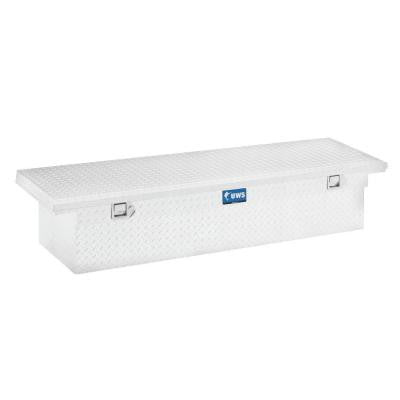 66 in. Aluminum Single Lid Crossover Tool Box with Low Profile