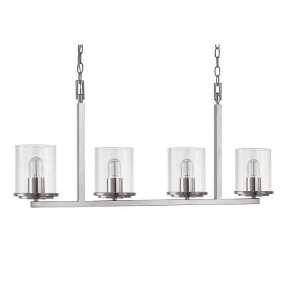 Austin Allen & Co. 4-Light Polished Nickel Island Light