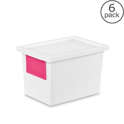 5.4-Qt. ID Storage Box (6-Pack)