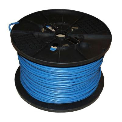 1000 ft. UTP FT6 CMP Cat5e Network Cable - Blue