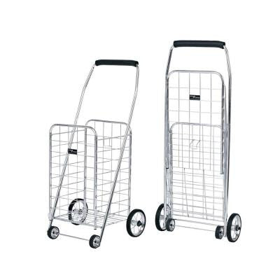 Mini Shopping Cart in Elite - Chrome