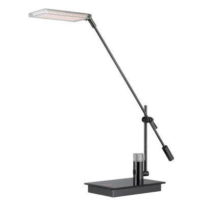 18 in Chrome Desk Lamp with Touch Dimmer