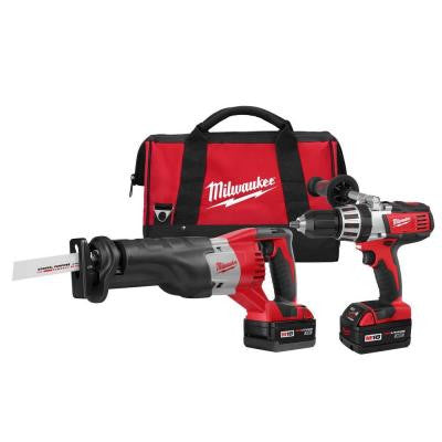 M18 18-Volt Lithium-Ion Cordless Hammer Drill/Sawzall Combo Kit (2-Tool)