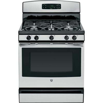 5.0 cu. ft. Gas Range in Stainless Steel