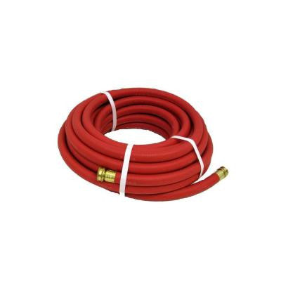 Endurance 5/8 in. Dia x 75 ft. Industrial-Grade Red Rubber Garden Hose