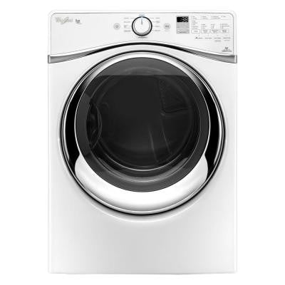 Duet 7.3 cu. ft. Electric Dryer with Steam in White, ENERGY STAR